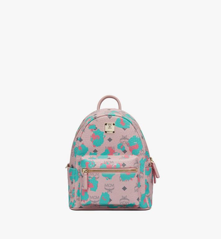 MCM Stark Backpack in Floral Leopard Alternate View