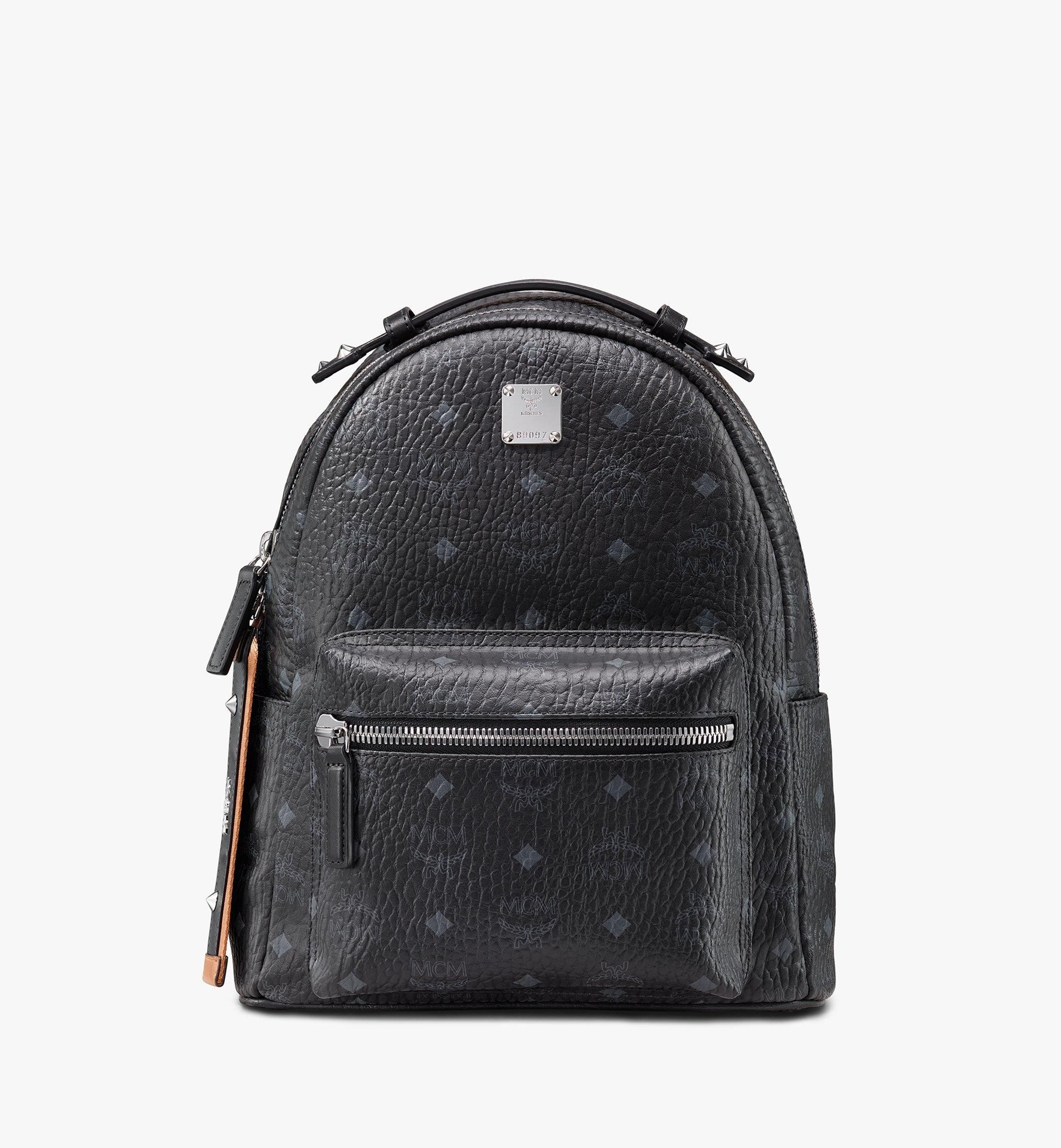 MCM Stark Backpack in Visetos Black MMKASVE26BK001 Alternate View 1