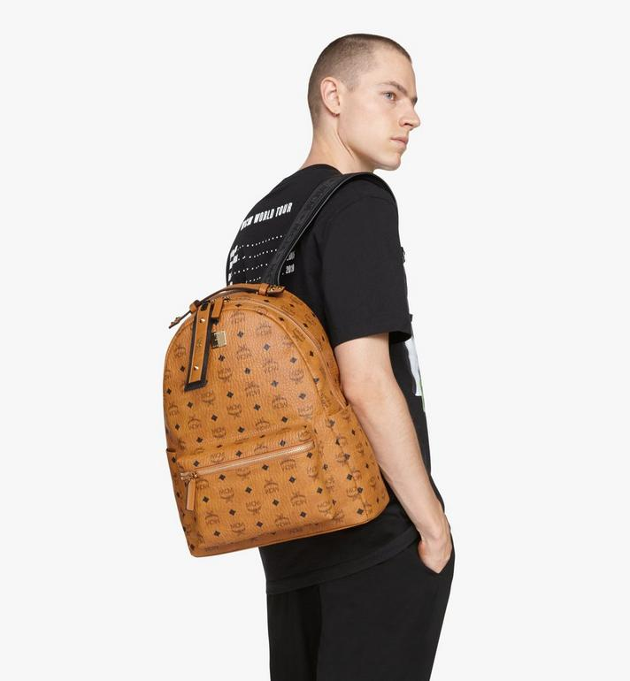 MCM Stark Backpack in Visetos Cognac MMKASVE27CO001 Alternate View 6