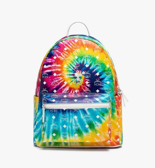 Tie Dye Backpack in Calfskin Leather
