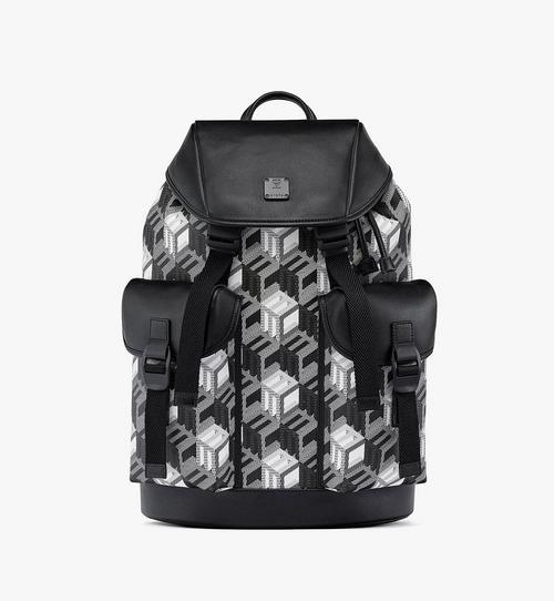 Brandenburg Backpack in Cubic Monogram Canvas