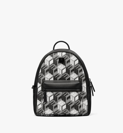 Stark Backpack in Cubic Monogram Canvas