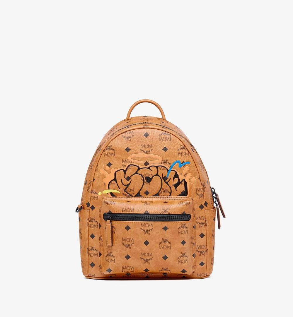MCM x SAMBYPEN Stark Backpack in Visetos 1