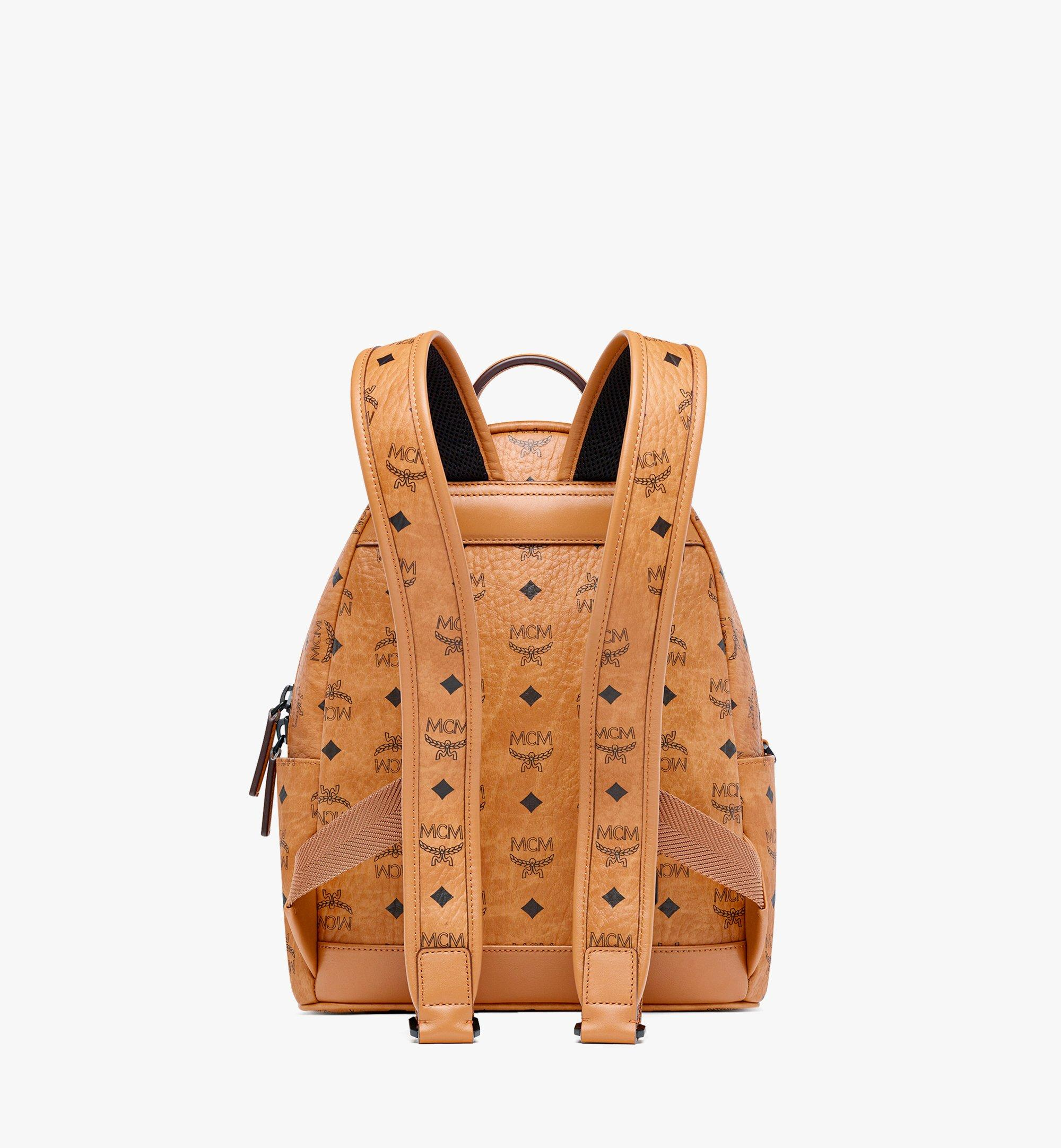 MCM MCM x SAMBYPEN Stark in Visetos 背包 Cognac MMKBASP01CO001 更多視圖 3