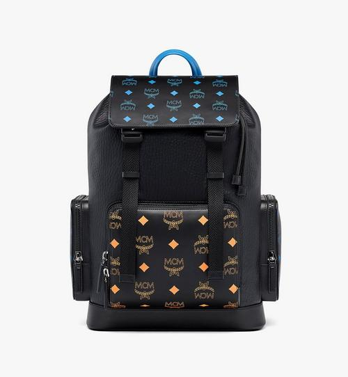 Brandenburg Backpack in Color Splash Logo Leather