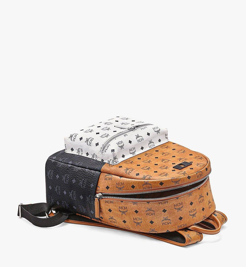 MCM Stark Backpack in Visetos Mix Cognac MMKBSVE02CO001 Alternate View 2