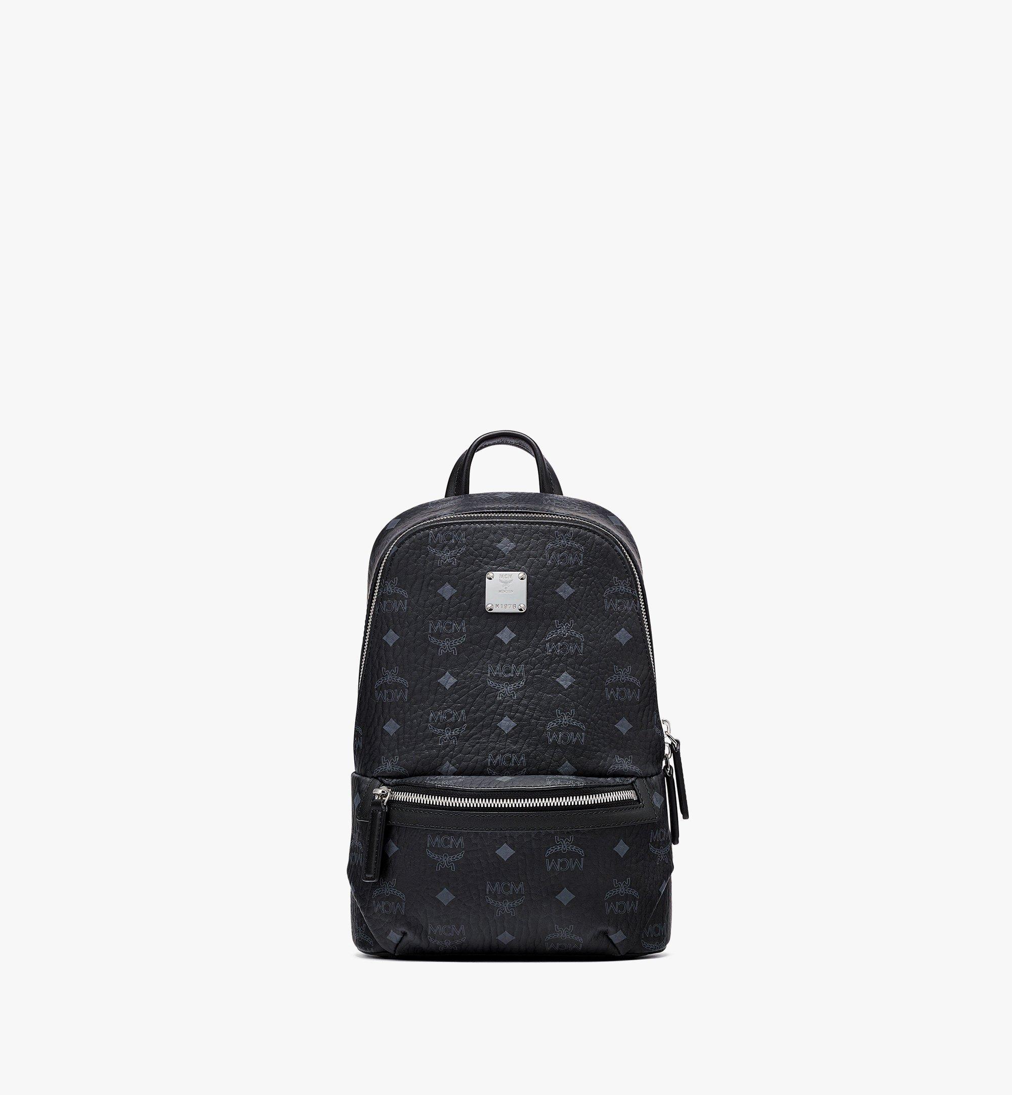 MCM Klassik Sling Bag in Visetos Black MMLBSKC01BK001 Alternate View 1