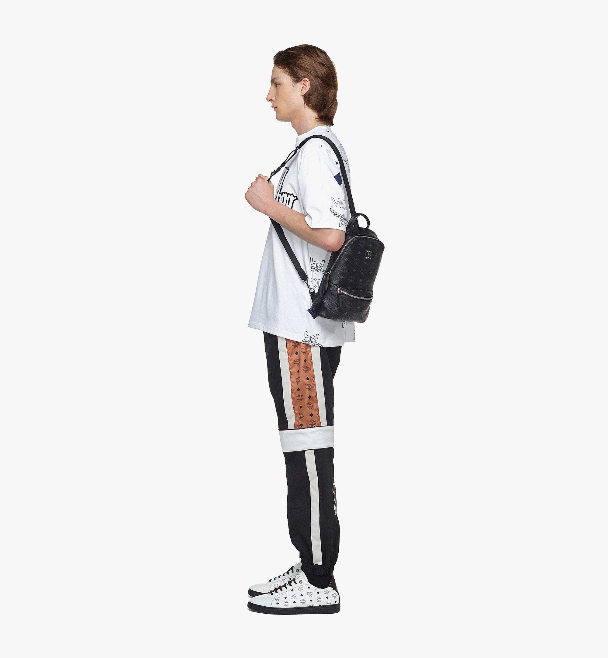 MCM Klassik Sling Bag in Visetos Black MMLBSKC01BK001 Alternate View 4