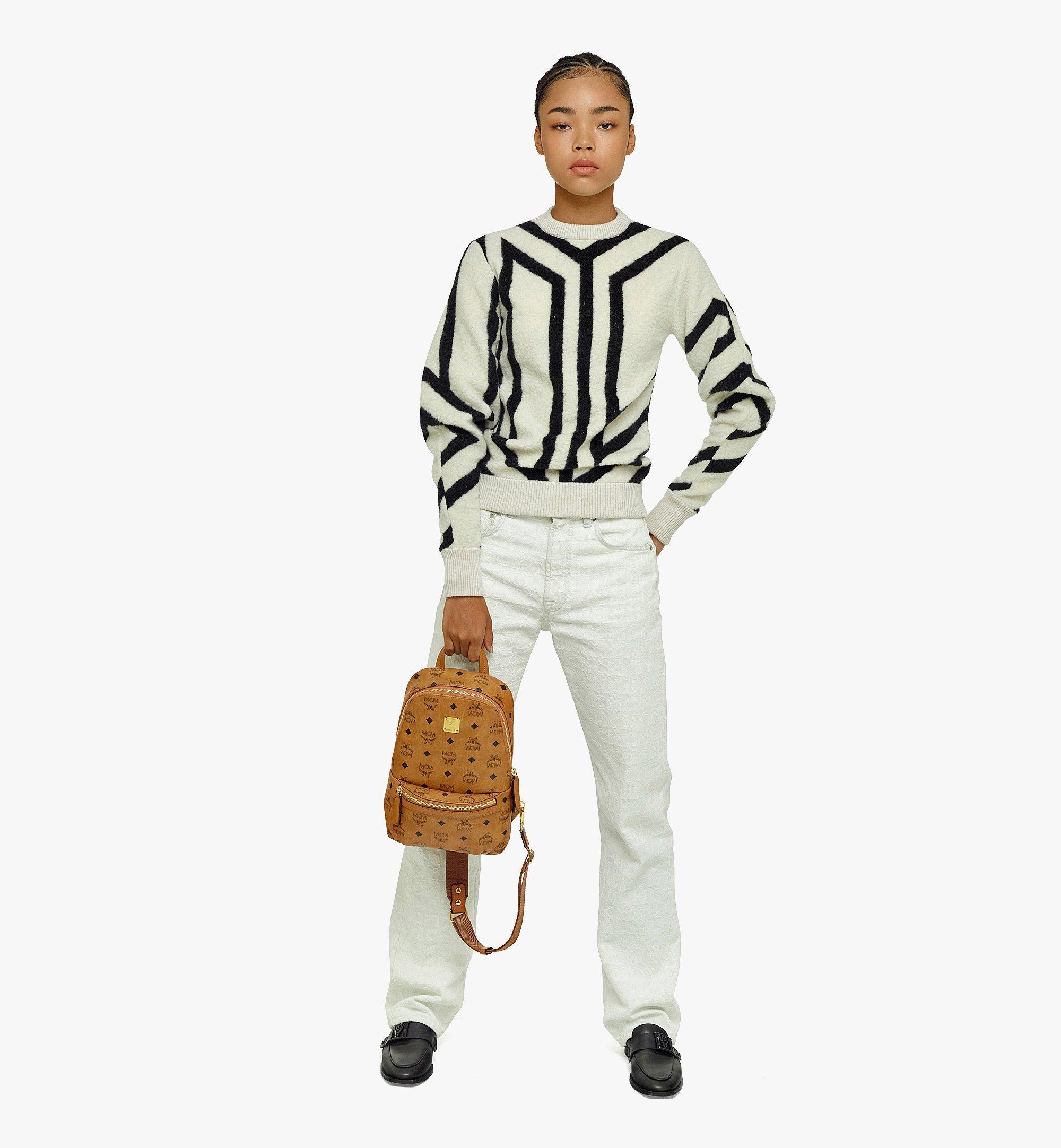 MCM Klassik Sling Bag in Visetos Cognac MMLBSKC01CO001 Alternate View 4
