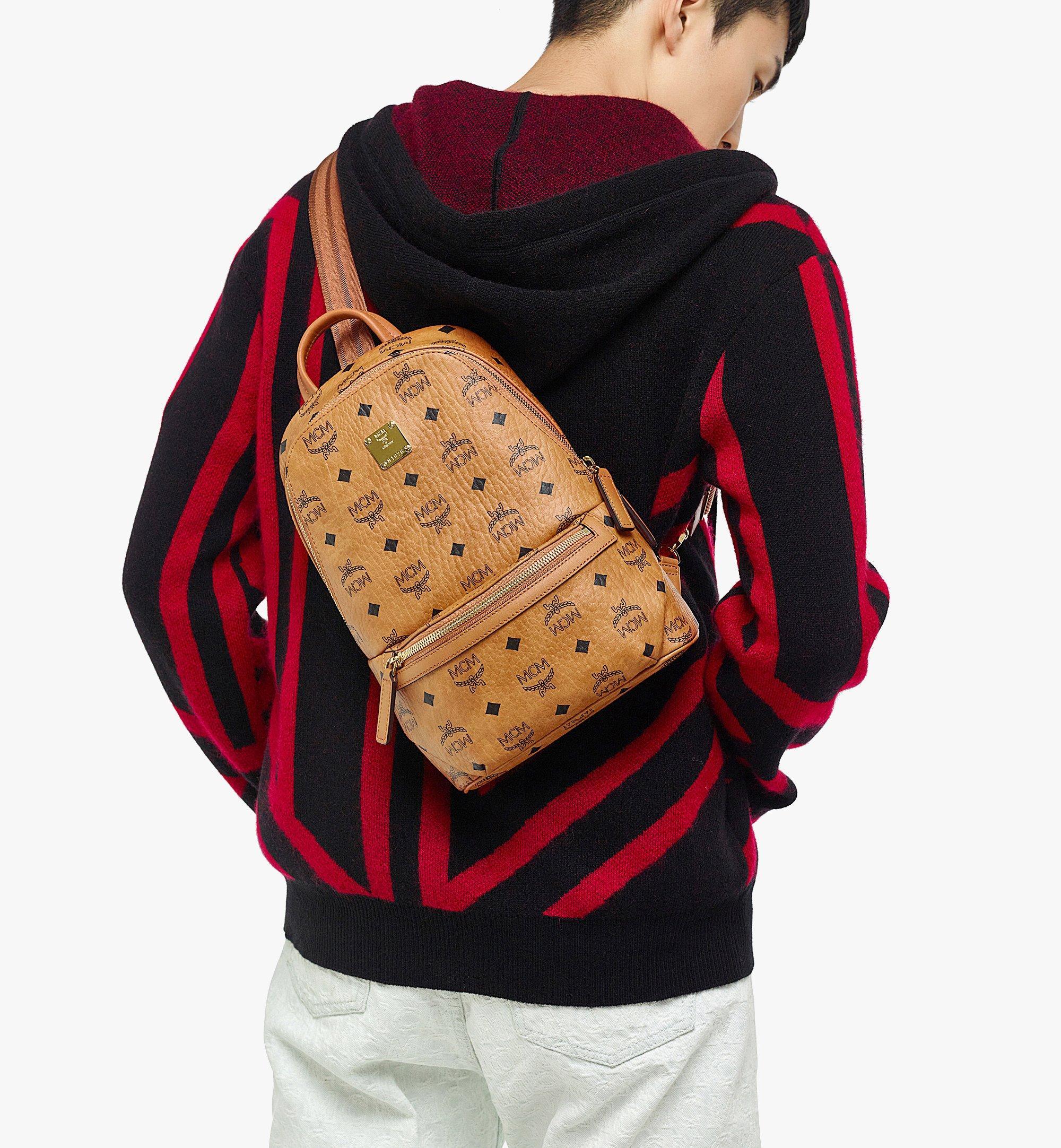 MCM Klassik Sling Bag in Visetos Cognac MMLBSKC01CO001 Alternate View 2