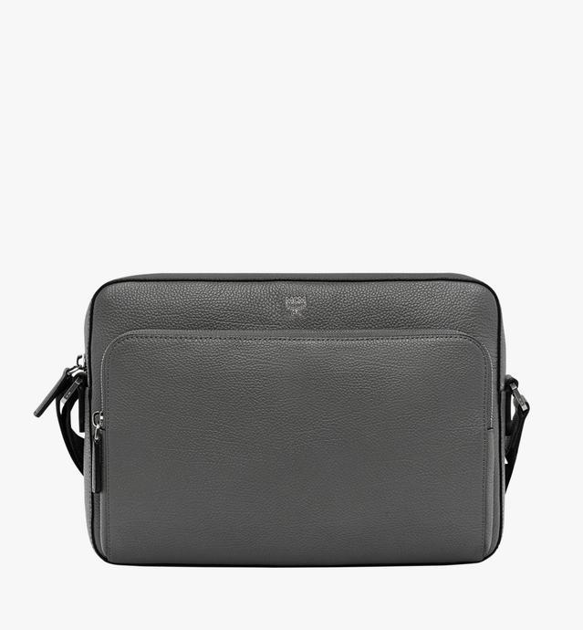 Ottomar Messenger-Tasche aus genarbtem Leder