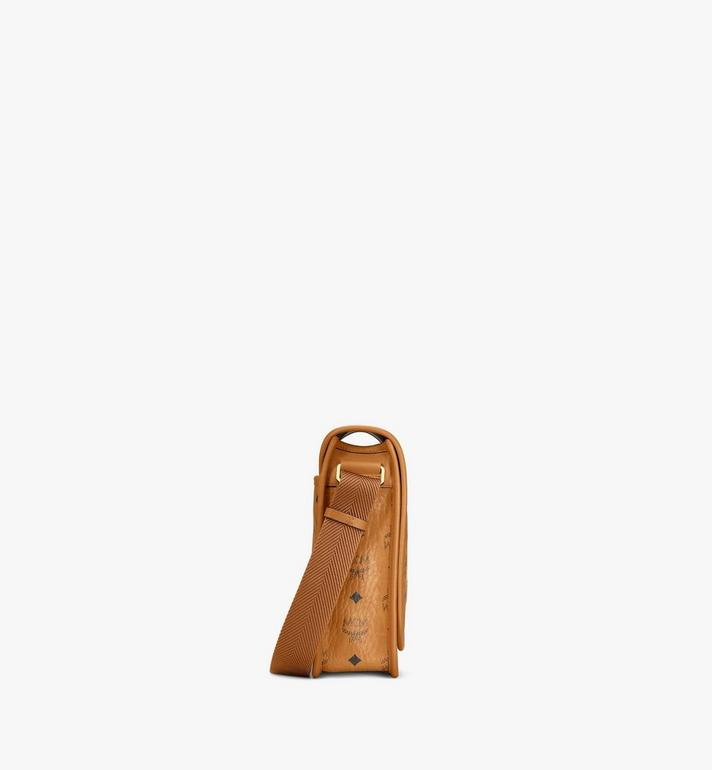 MCM Klassik Messenger Bag in Visetos Cognac MMMAAKC02CO001 Alternate View 2