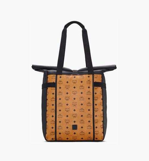 Utility-Shopper mit Rolltop-Design in Visetos
