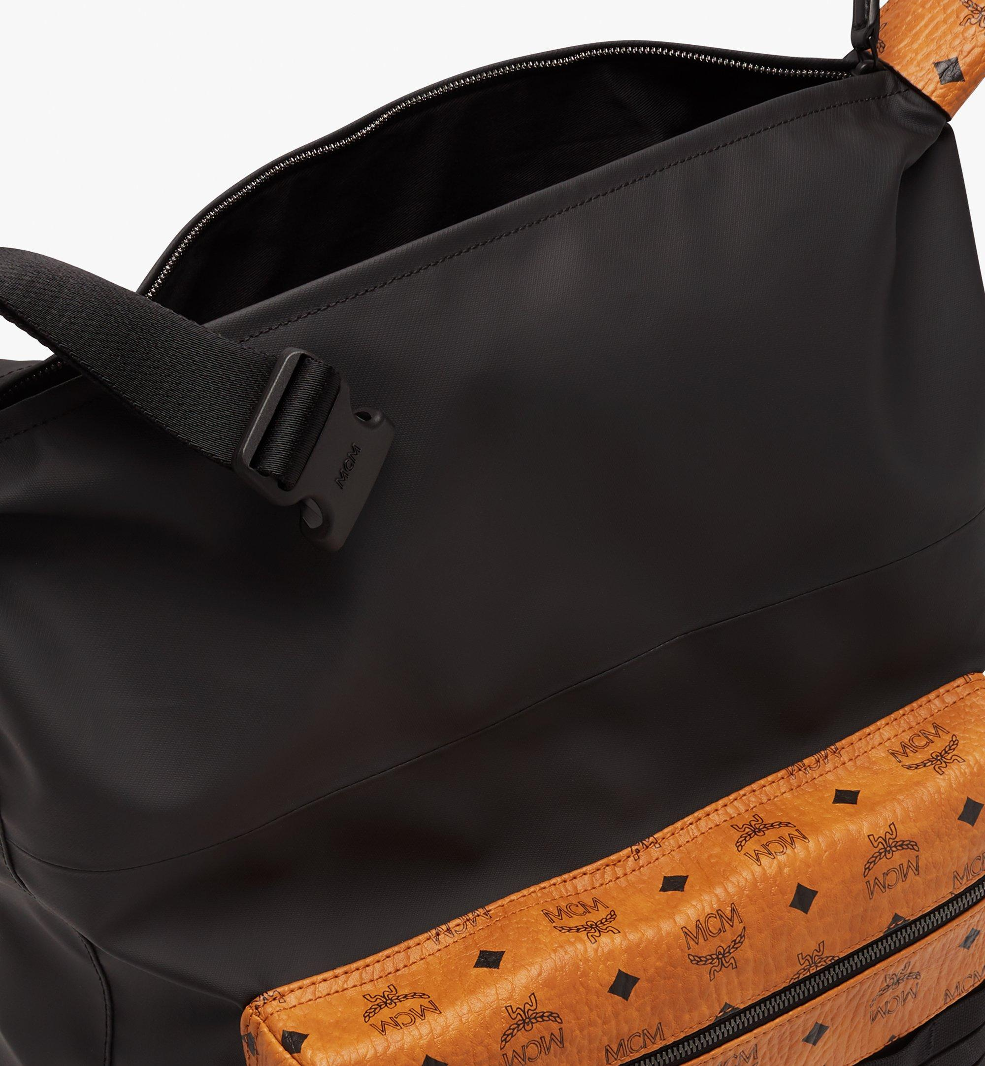 MCM 1976 Convertible Backpack in Nylon Black MMPASMV01BK001 Alternate View 5