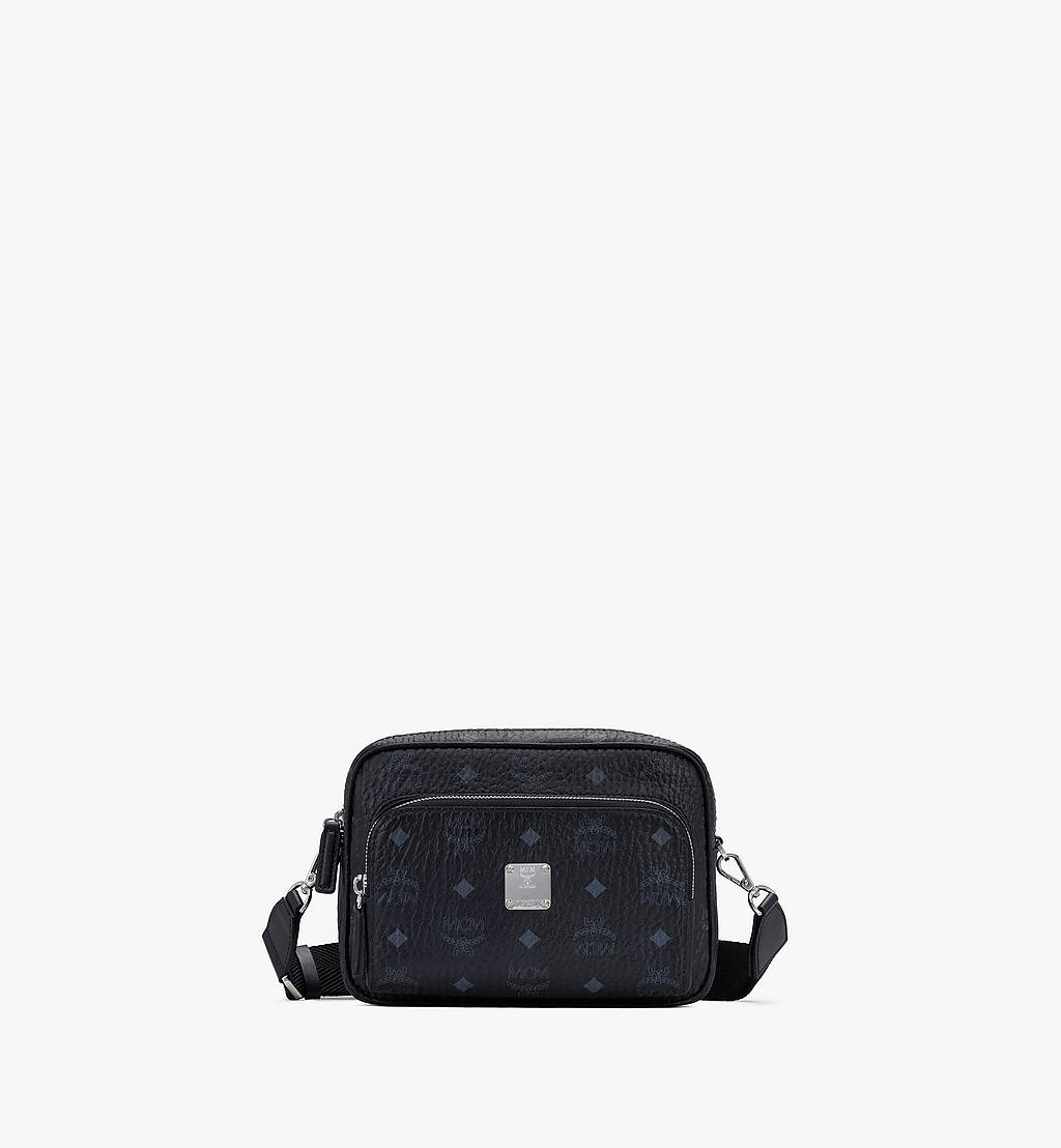 MCM Klassik Crossbody in Visetos Black MMRAAKC02BK001 Alternate View 1