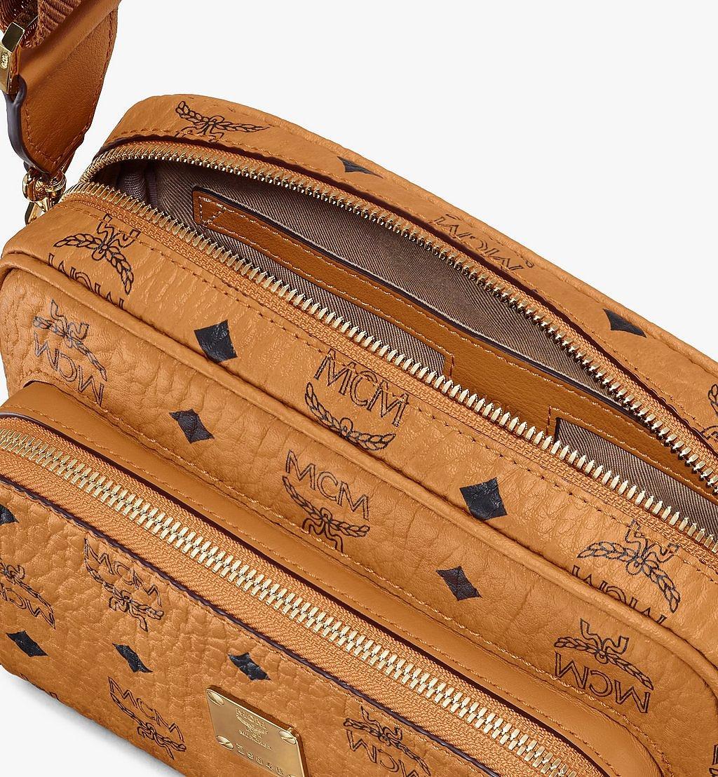 MCM Klassik Crossbody-Tasche in Visetos Gold MMRAAKC02CO001 Noch mehr sehen 3