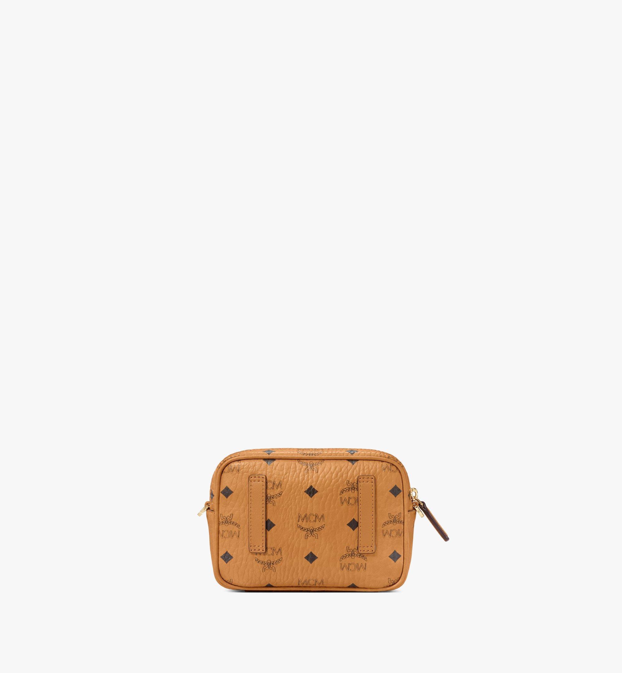 MCM Klassik Crossbody-Tasche in Visetos Cognac MMRAAKC03CO001 Noch mehr sehen 3