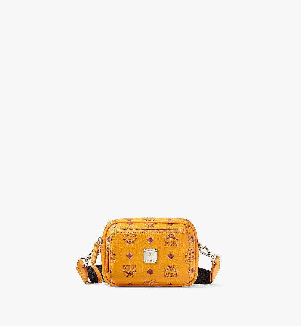 MCM Klassik Crossbody-Tasche in Visetos Orange MMRAAKC03O5001 Noch mehr sehen 1
