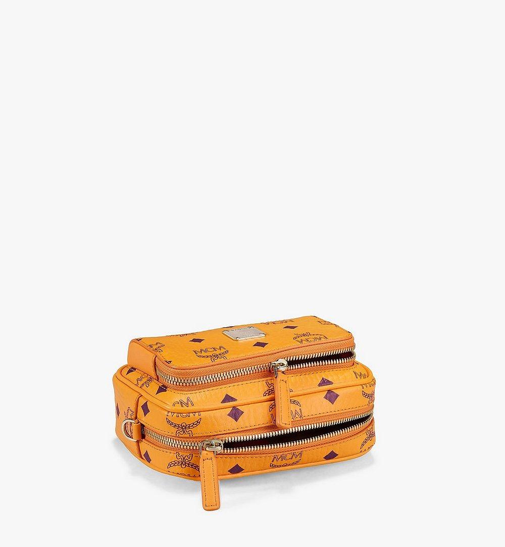 MCM Klassik Crossbody-Tasche in Visetos Orange MMRAAKC03O5001 Noch mehr sehen 2