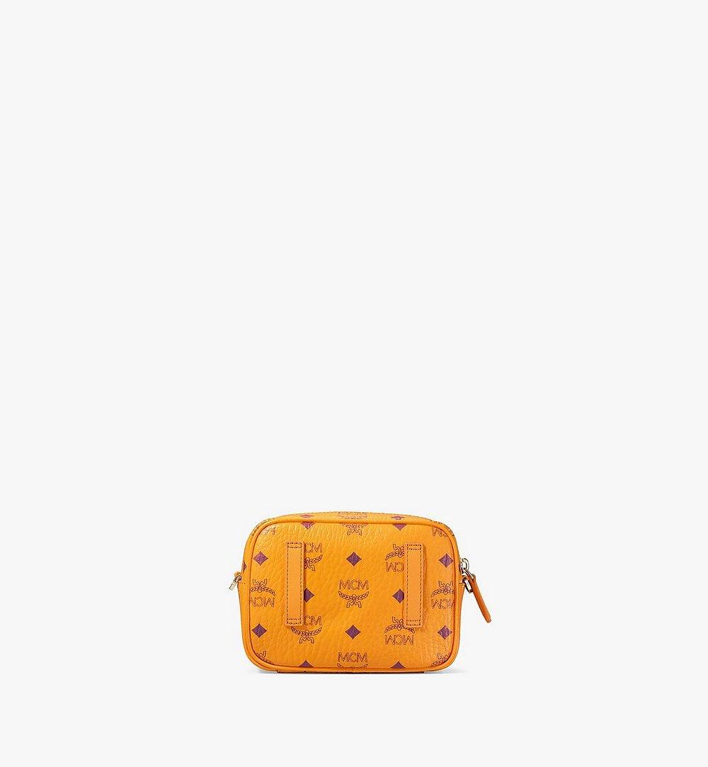 MCM Klassik Crossbody-Tasche in Visetos Orange MMRAAKC03O5001 Noch mehr sehen 3