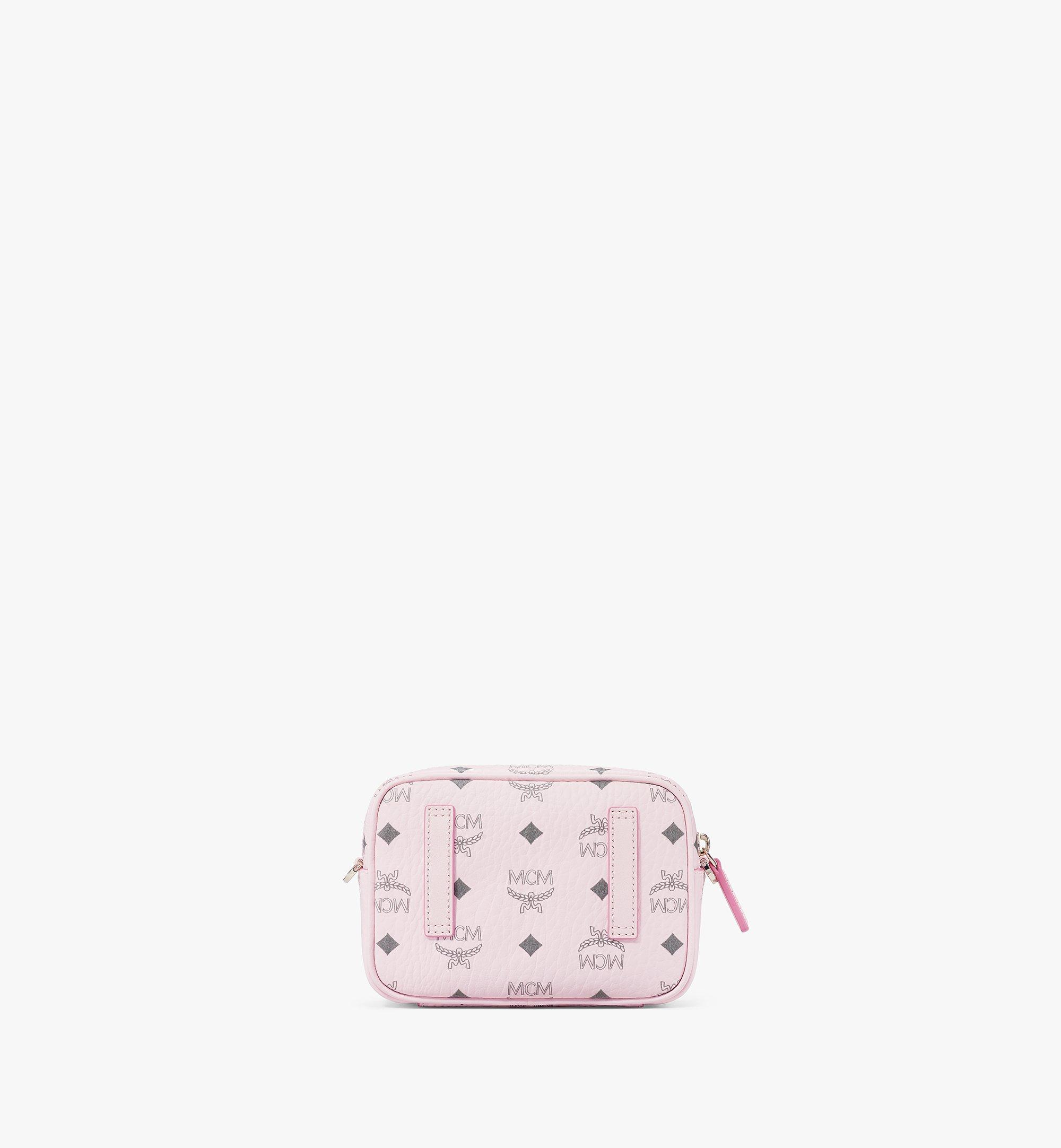MCM Klassik Crossbody-Tasche in Visetos Pink MMRAAKC03QH001 Noch mehr sehen 3