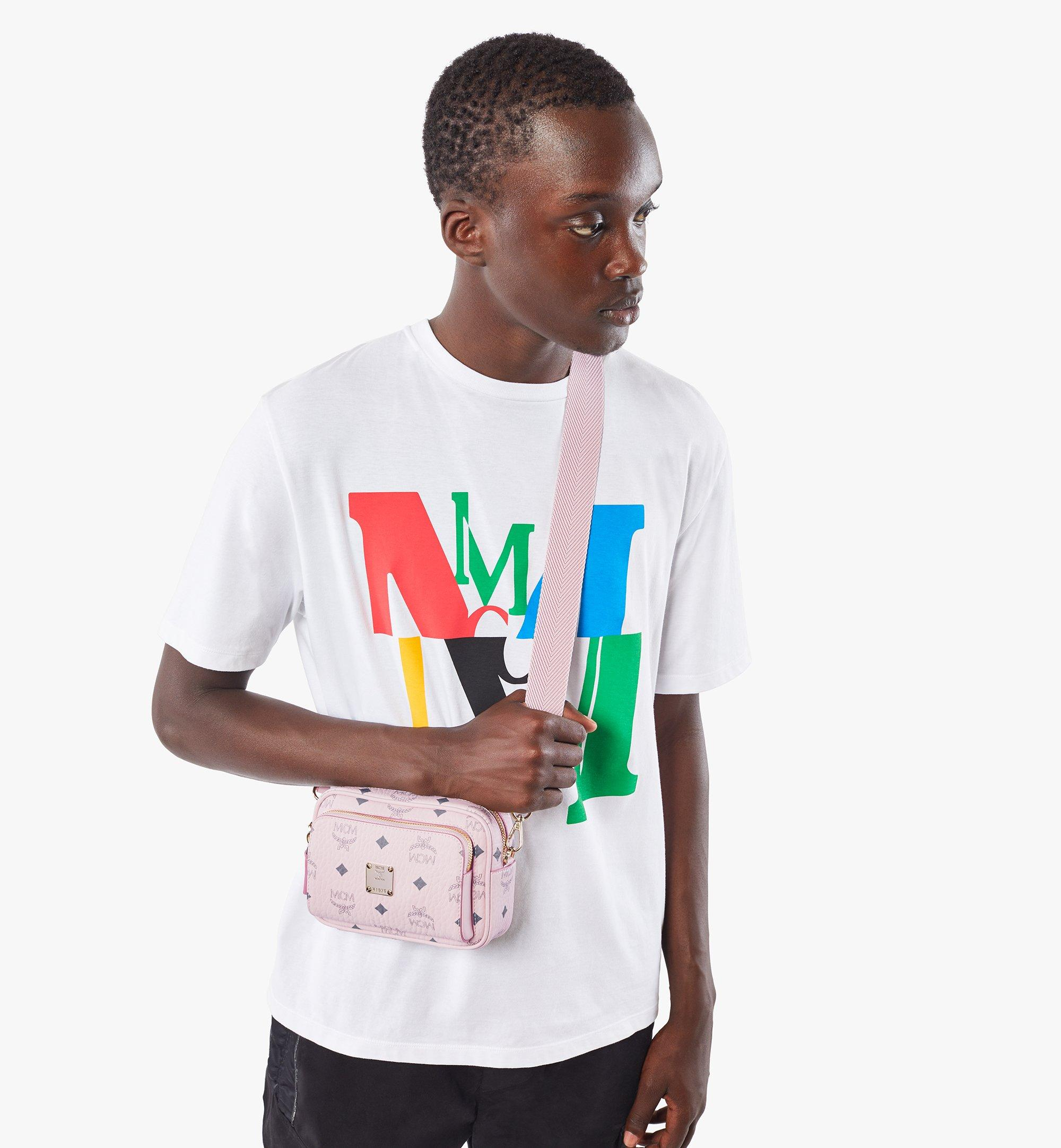 MCM Klassik Crossbody-Tasche in Visetos Pink MMRAAKC03QH001 Noch mehr sehen 2
