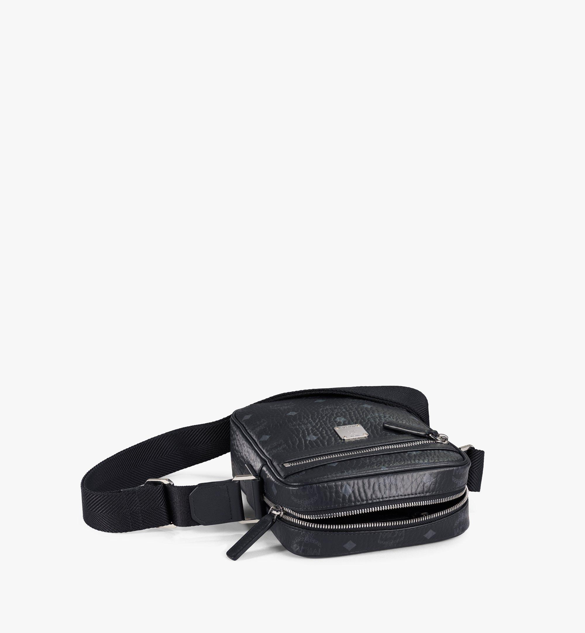 MCM Klassik Crossbody-Tasche in Visetos Black MMRAAKC04BK001 Noch mehr sehen 2