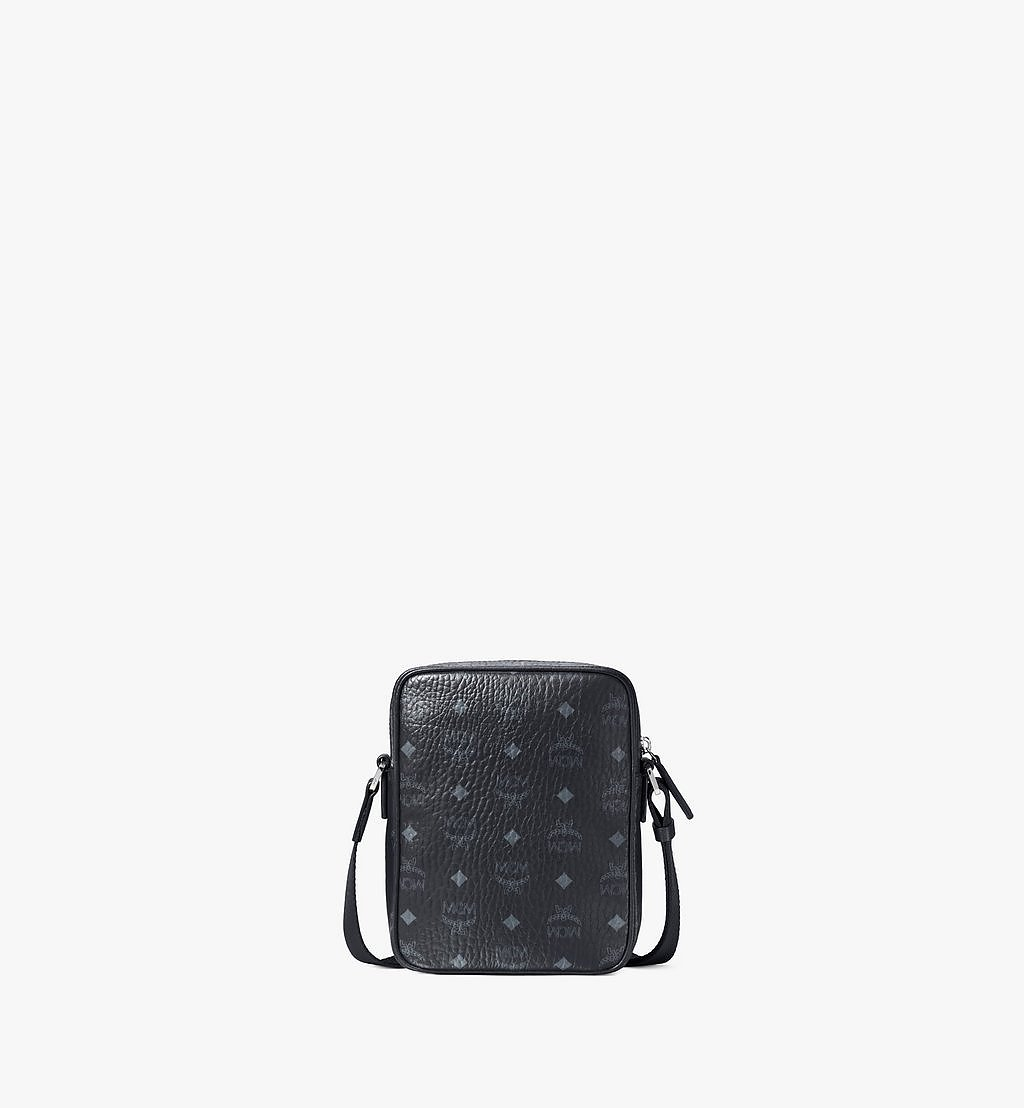 MCM Klassik Crossbody-Tasche in Visetos Black MMRAAKC04BK001 Noch mehr sehen 3