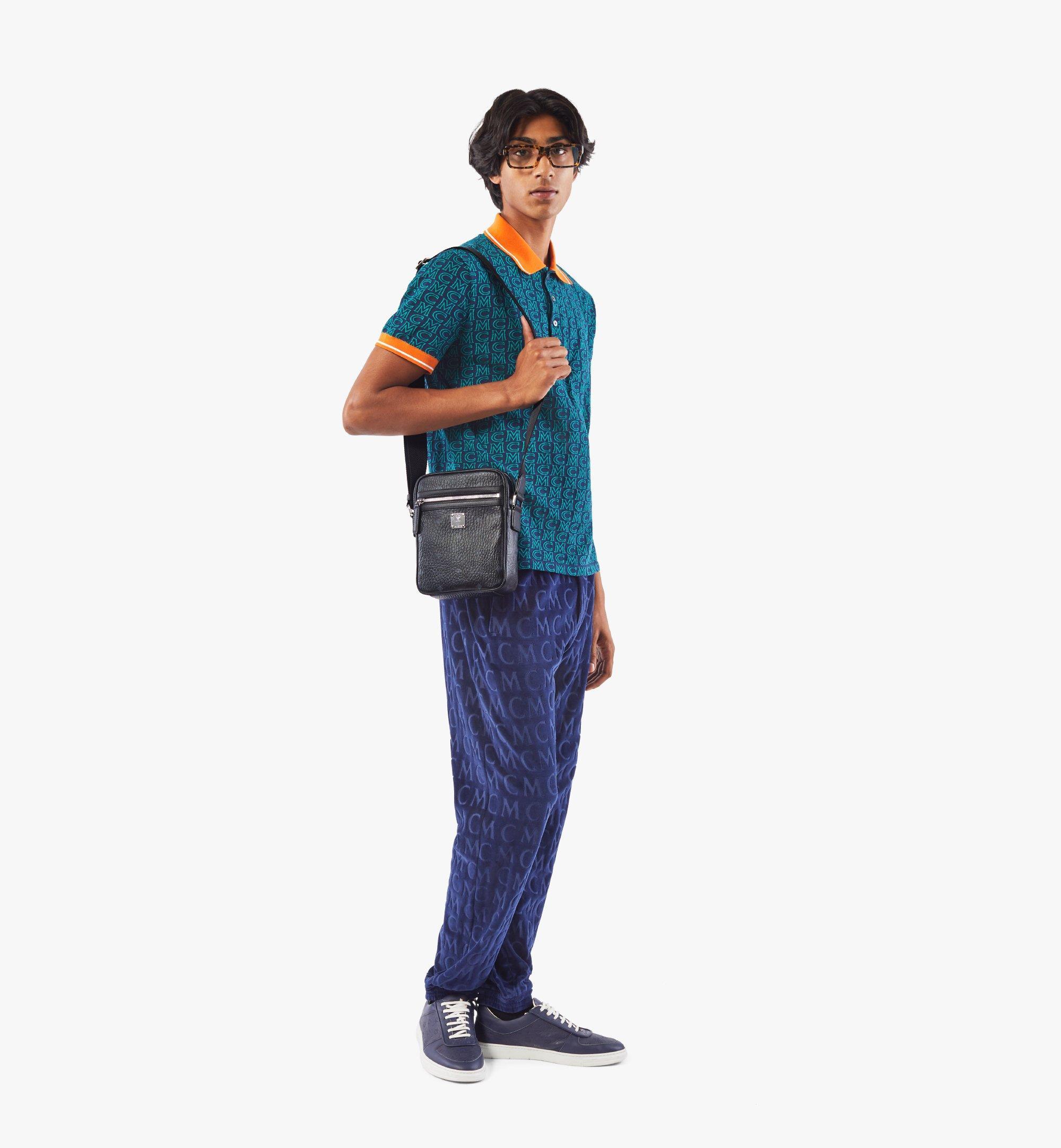MCM Klassik Crossbody-Tasche in Visetos Black MMRAAKC04BK001 Noch mehr sehen 4