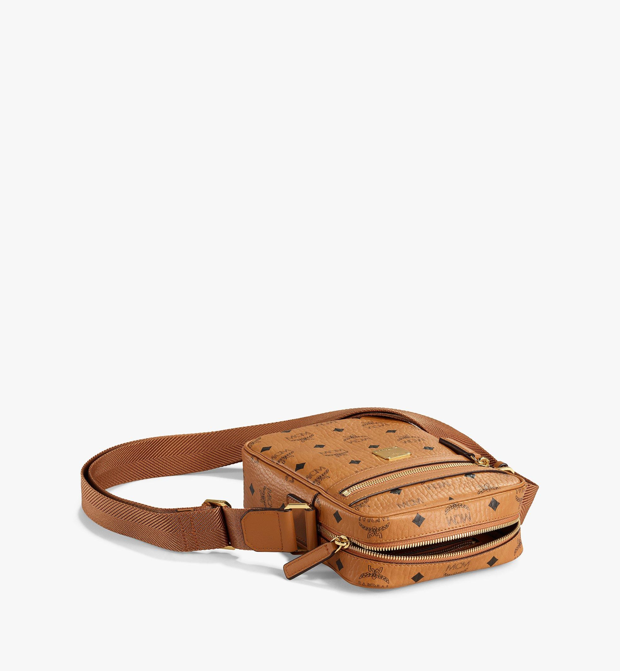 MCM Klassik Crossbody-Tasche in Visetos Cognac MMRAAKC04CO001 Noch mehr sehen 2