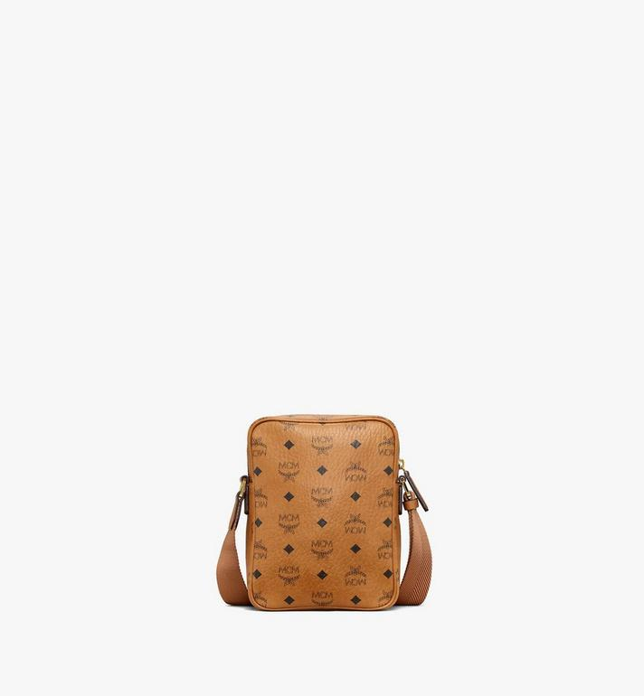 MCM N/S Klassik Crossbody in Visetos Cognac MMRAAKC04CO001 Alternate View 4