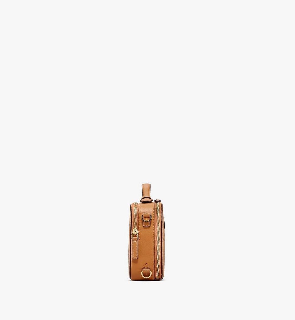 MCM 〈クラシック〉クロスボディバッグ - ヴィセトス Cognac MMRAAKC05CO001 ほかの角度から見る 1