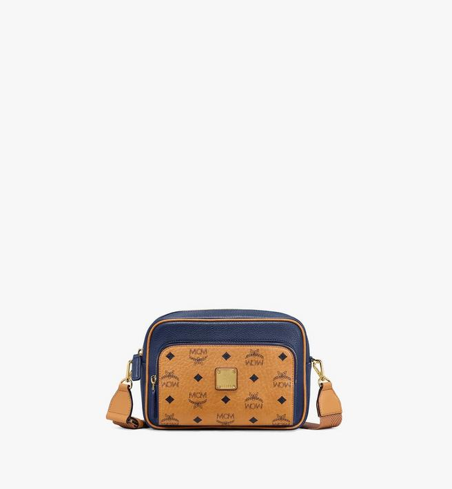 MCM Klassik Crossbody in Visetos Leather Block Alternate View