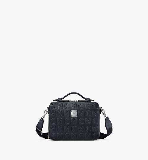 Klassik Crossbody-Tasche im Querformat aus Leder mit MCM-Monogramm
