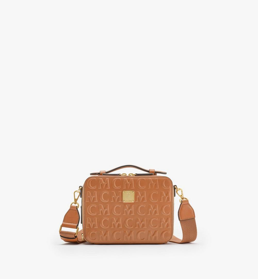 E/W Klassik Crossbody in MCM Monogram Leather 1