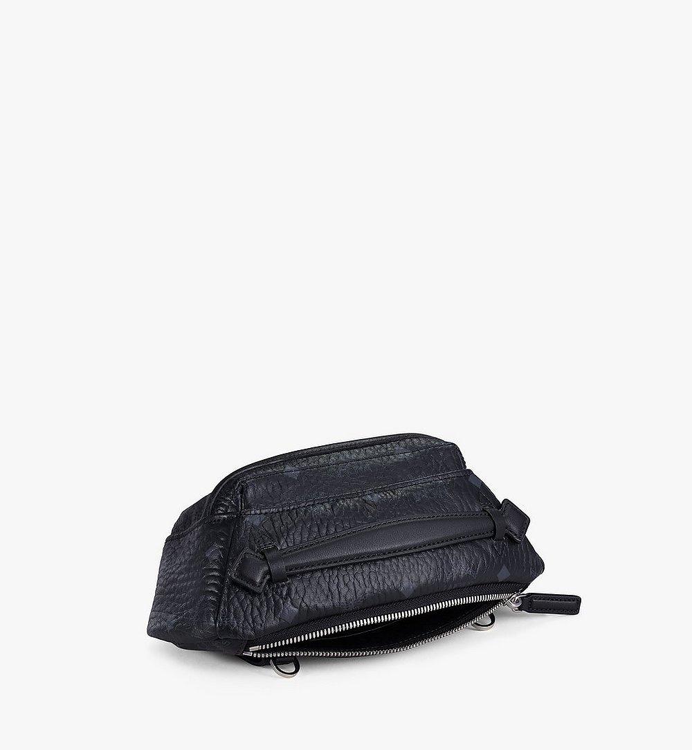 MCM Crossbody Bag in Visetos Original Black MMRAAVI06BK001 Alternate View 1