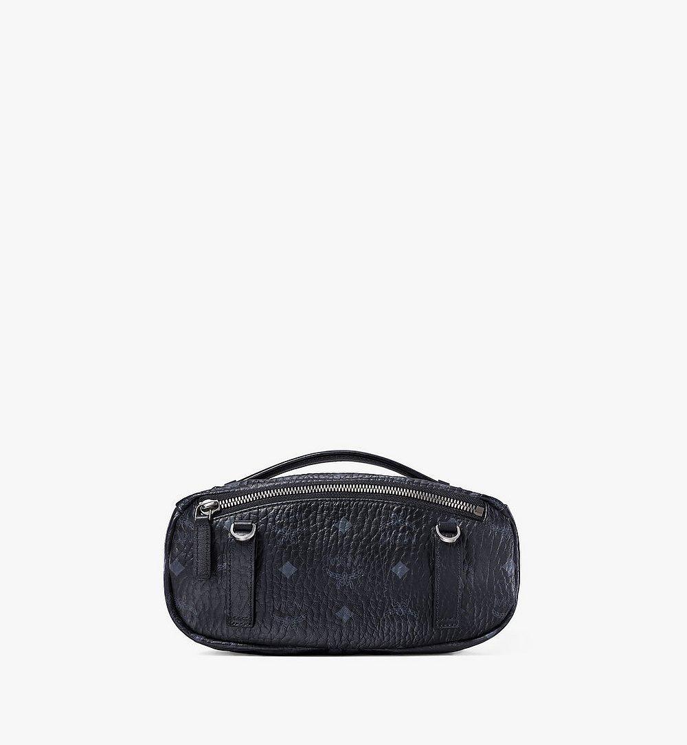 MCM Crossbody Bag in Visetos Original Black MMRAAVI06BK001 Alternate View 2
