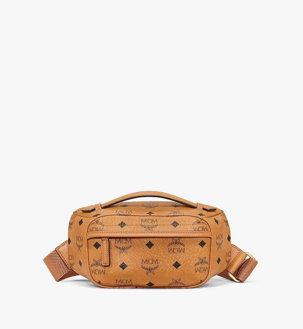 MCM Crossbody Bag in Visetos Original Cognac MMRAAVI06CO001 Alternate View 1