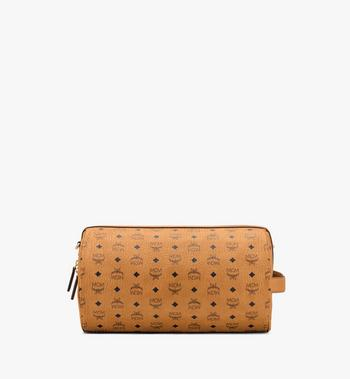 MCM Klassik Crossbody in Visetos Cognac MMRASKC02CO001 Alternate View 3