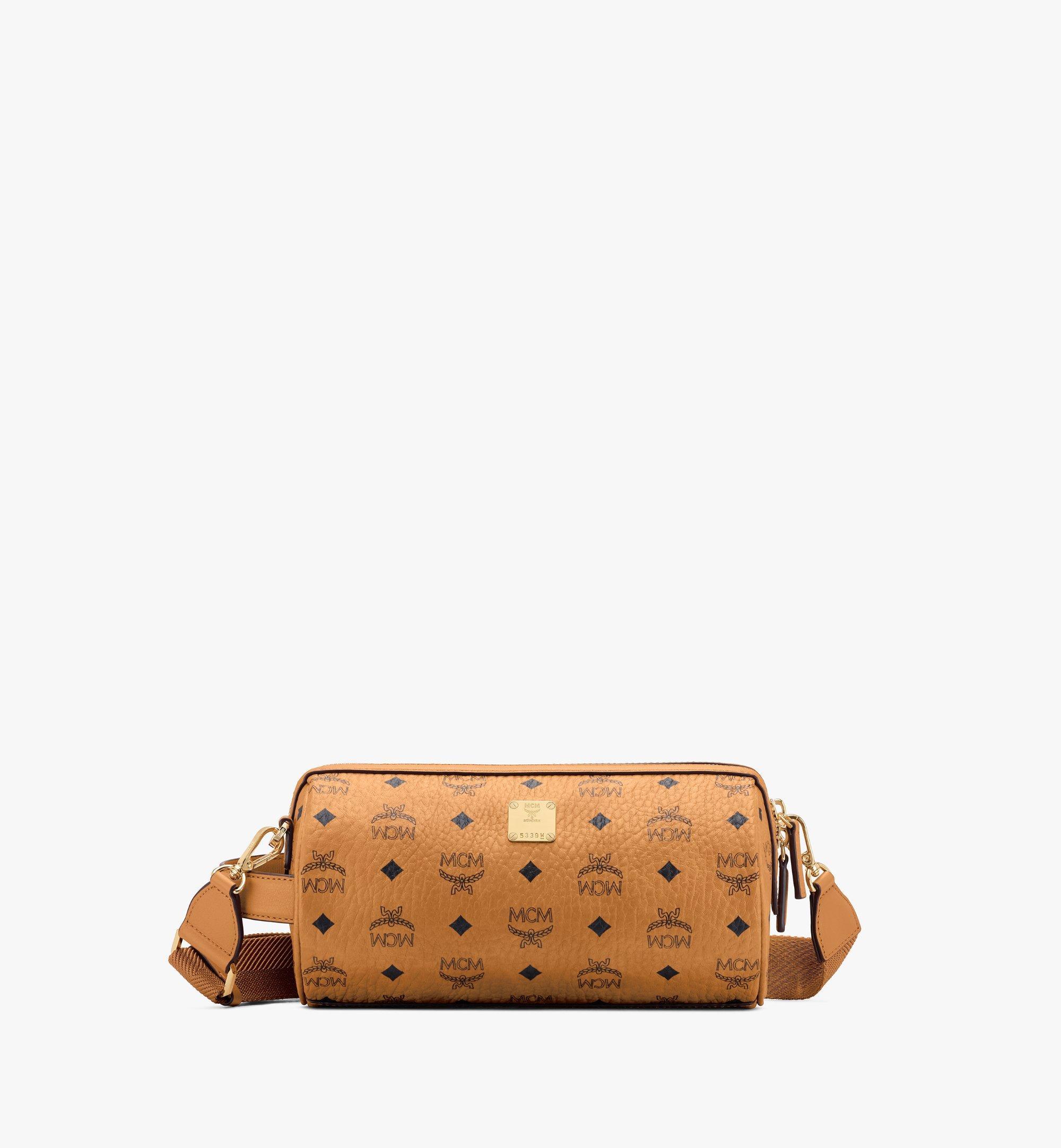 MCM Klassik Crossbody-Tasche in Visetos Cognac MMRASKC04CO001 Noch mehr sehen 1