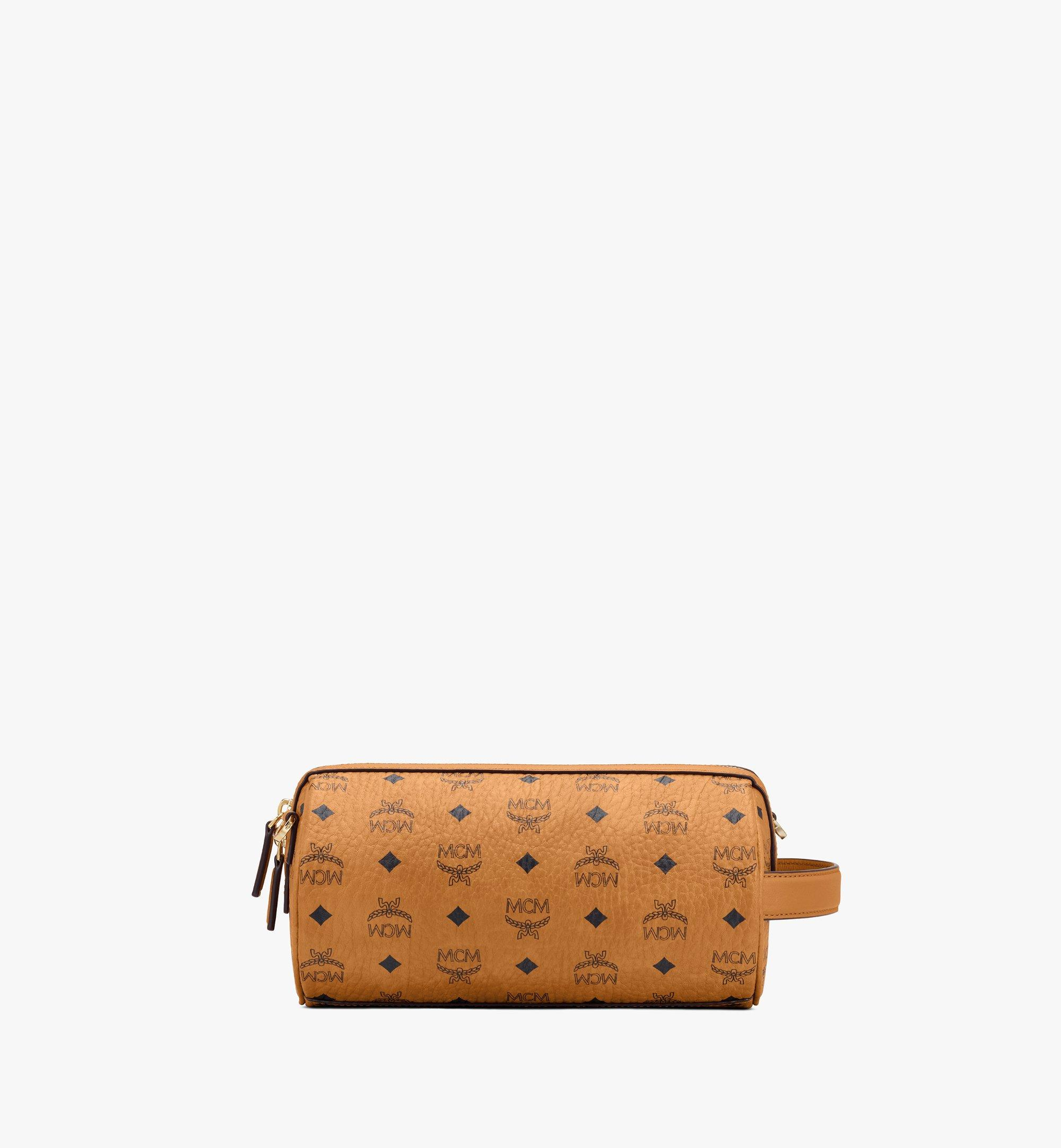 MCM Klassik Crossbody-Tasche in Visetos Cognac MMRASKC04CO001 Noch mehr sehen 2