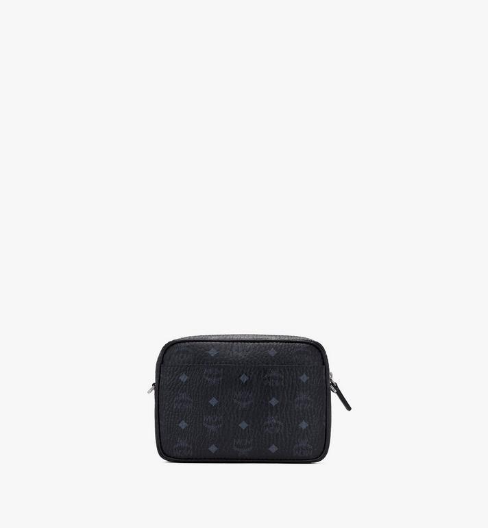 MCM Klassik Crossbody-Tasche in Visetos Black MMRASKC06BK001 Alternate View 3