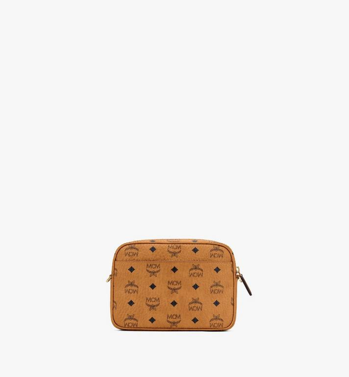 MCM Klassik Crossbody in Visetos Cognac MMRASKC06CO001 Alternate View 3