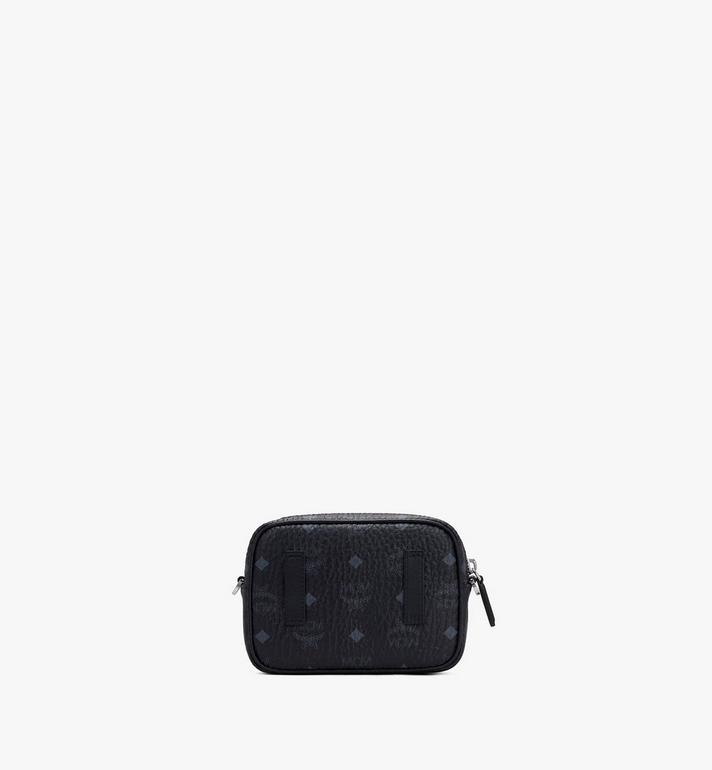 MCM Klassik Crossbody in Visetos Black MMRASKC08BK001 Alternate View 3