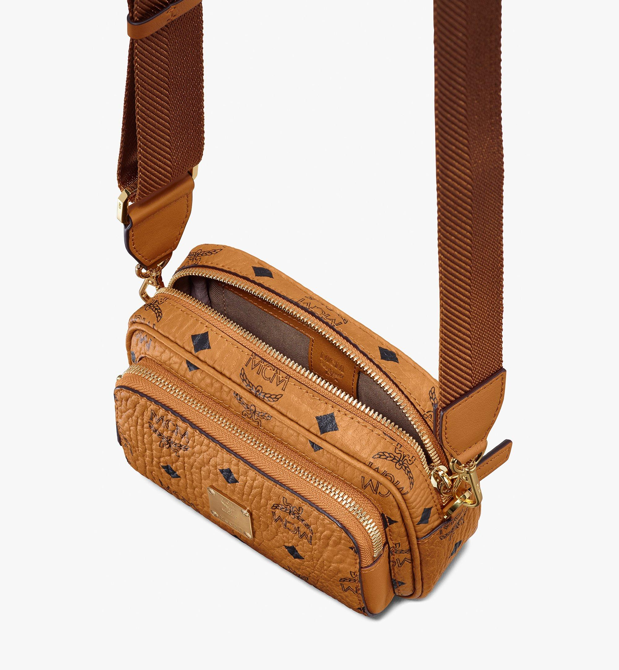 X Mini Klassik Crossbody Tasche in Visetos Cognac | MCM® DE