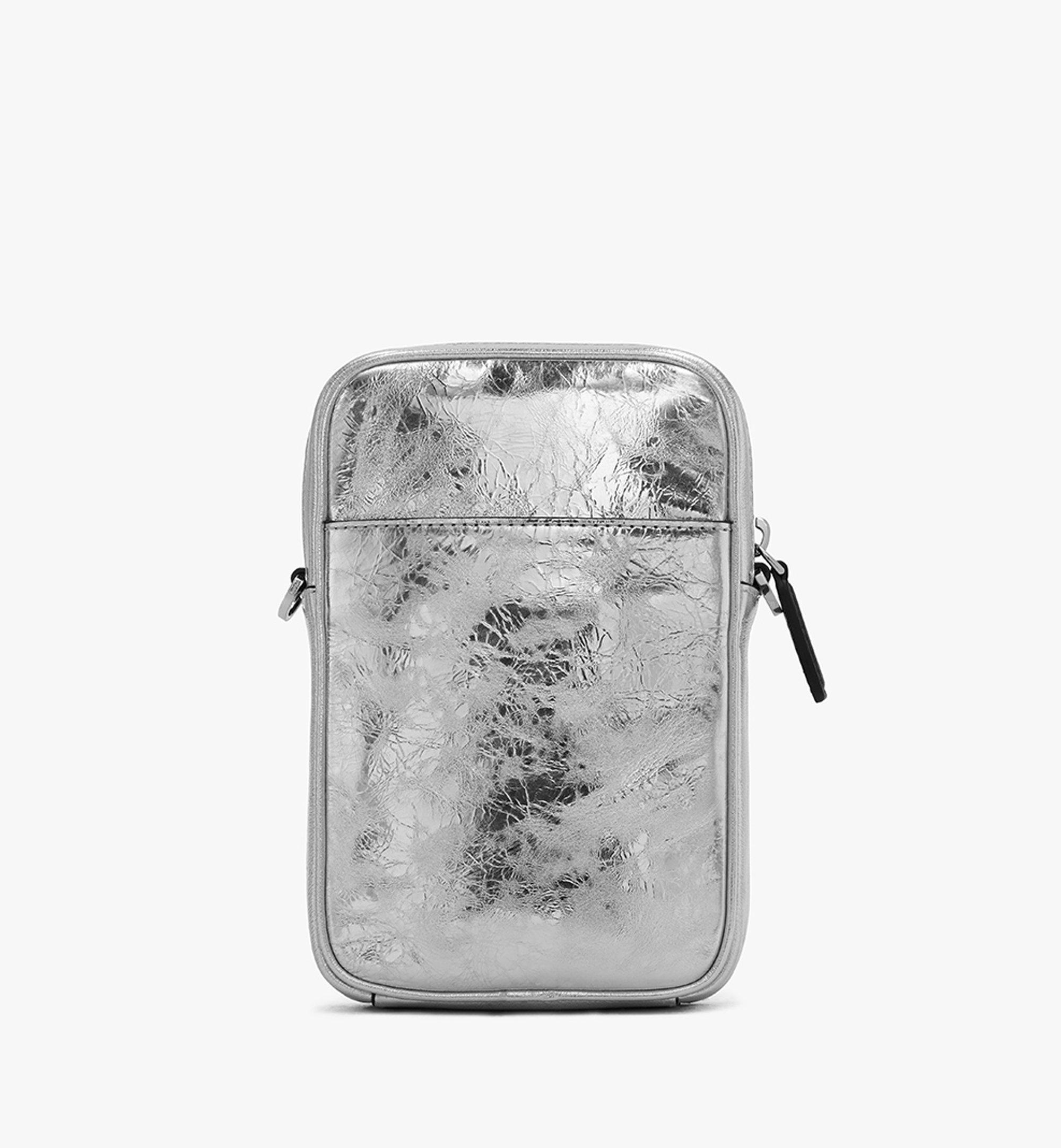 One Size Klassik Tech Crossbody Tasche aus Metallic