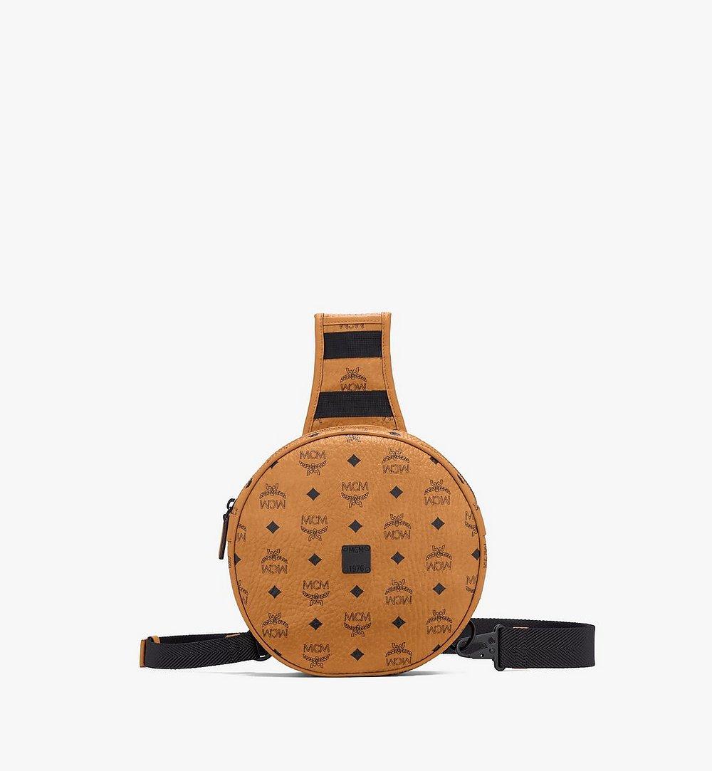 MCM 1976 Circle Crossbody-Tasche in Visetos Cognac MMRASMV01CO001 Noch mehr sehen 1
