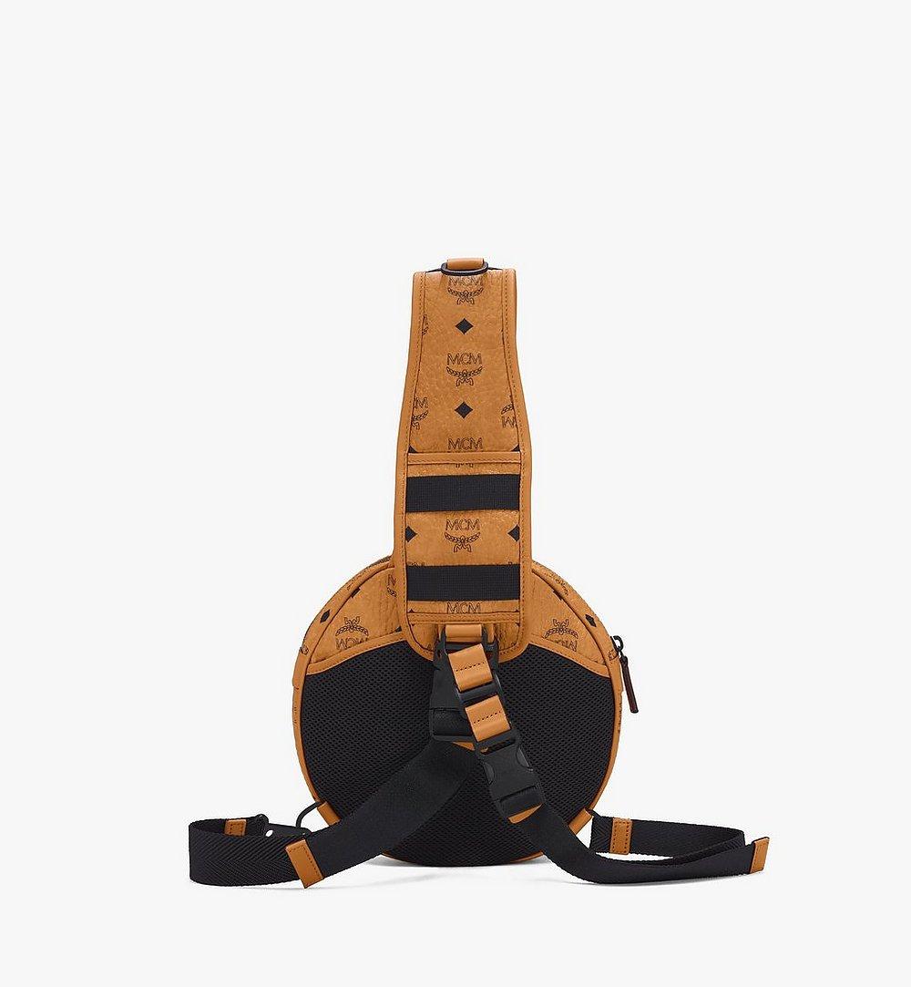 MCM 1976 Circle Crossbody-Tasche in Visetos Cognac MMRASMV01CO001 Noch mehr sehen 2