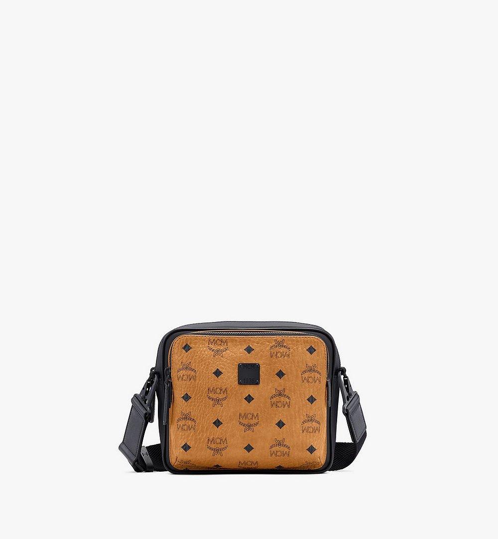 MCM Eckige 1976 Crossbody-Tasche in Visetos Cognac MMRASMV03CO001 Noch mehr sehen 1