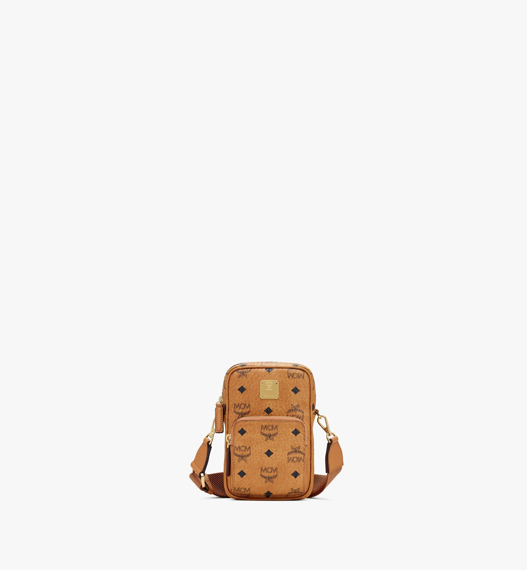 Mini Tech Crossbody Tasche in Visetos Original Cognac | MCM® DE